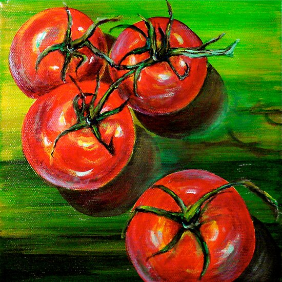 Tomatoes... by © Janis Zroback