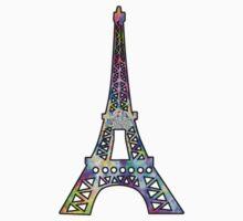 Eiffel Tower Trippy by Jason Levin
