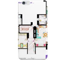 FRIENDS Apartment's Floorplans - V.2 iPhone Case/Skin