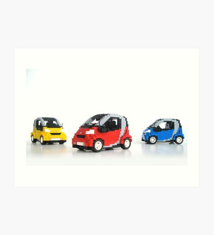 Smart For Two Art Print