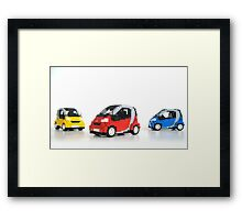 Smart For Two Framed Print