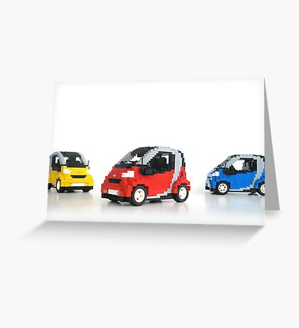 Smart For Two Greeting Card