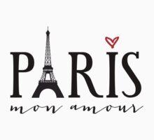 Paris mon amour One Piece - Short Sleeve