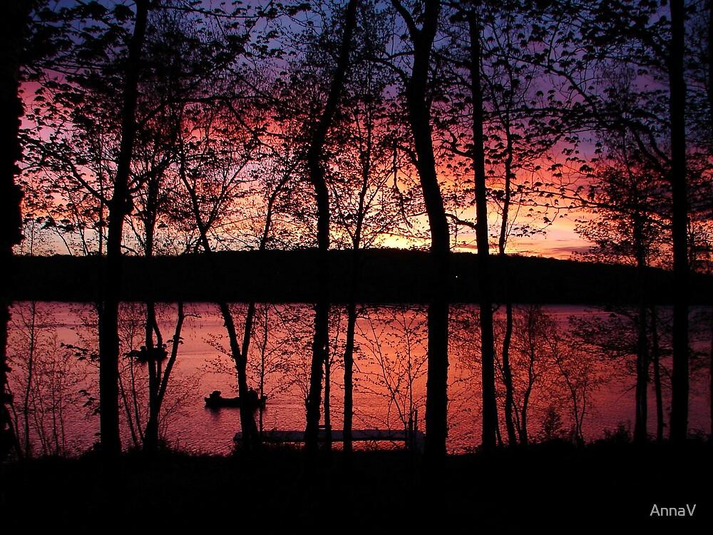 Fishing in Michigan by AnnaV