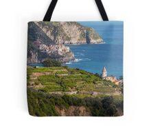 Cinque Terre vineyards Tote Bag