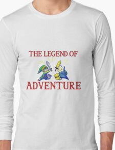 The Legend of Adventure  Long Sleeve T-Shirt