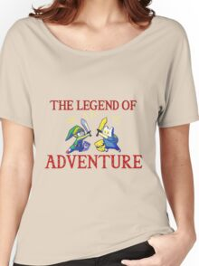 The Legend of Adventure  Women's Relaxed Fit T-Shirt