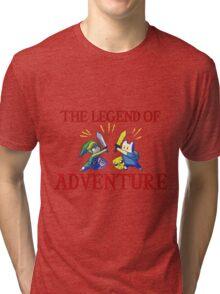 The Legend of Adventure  Tri-blend T-Shirt