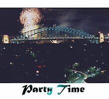 Party Time - Fireworks by C J Lewis