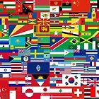 Flag Print by Nathan Dirienzo