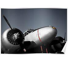 Art Deco Airplane Poster
