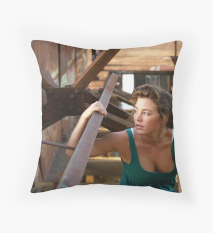 Courtney Gorman Throw Pillow