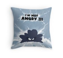 little cloudy - kids picture Throw Pillow