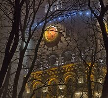 Water Tower At Night 1 by fine