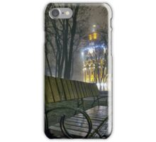 Water Tower At Night 3 iPhone Case/Skin