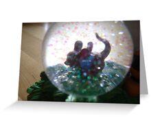 Krystal Ball Disney Greeting Card