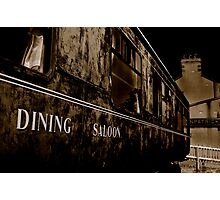 Dining Saloon Car Downpatrick Photographic Print