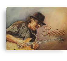 Santana pastel drawing Canvas Print