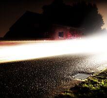 Light Trails 2 by Ben Baldwin-Davies