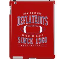 Deflate Gate - The New England Deflatriots iPad Case/Skin