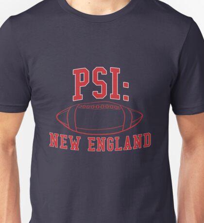 PSI: New England - Deflate Gate Unisex T-Shirt