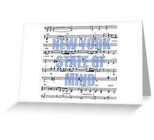 New York State of Mind Greeting Card