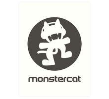 Monstercat Art Print