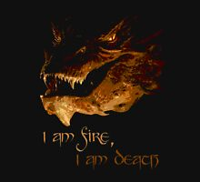 I am fire, I am Death Men's Baseball ¾ T-Shirt