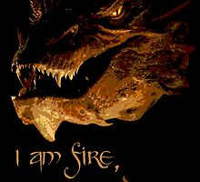I am fire, I am Death by Chris Harvey