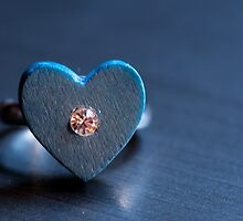 Heart Ring Blue by franceslewis