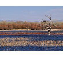 Rainbow Lake Photographic Print