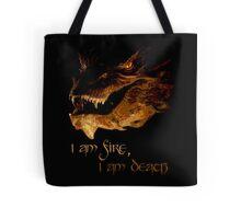 I am fire, I am Death Tote Bag