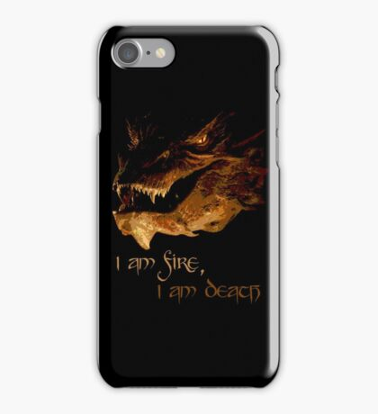 I am fire, I am Death iPhone Case/Skin