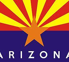 arizona state flag by tony4urban