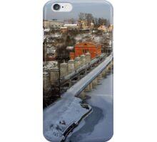 Sabarov Dam Vinnitsa at Winter iPhone Case/Skin