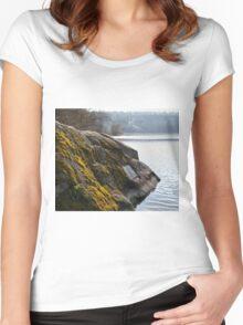 Kotsyubyns'kogo stone Women's Fitted Scoop T-Shirt