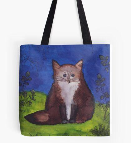 Chubby Fox Tote Bag