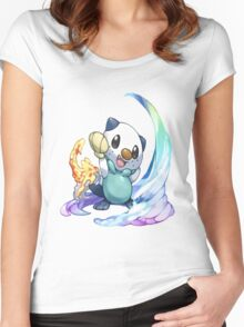 Oshawott Women's Fitted Scoop T-Shirt