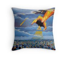 if thine eye offend thee... Throw Pillow