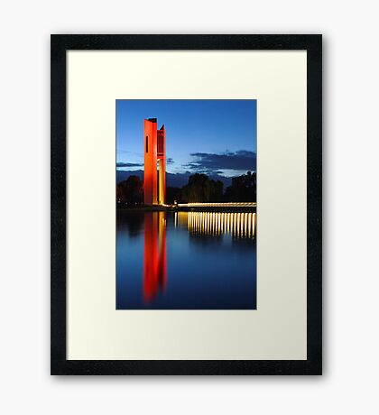 National Carillon Framed Print