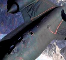 SR-71 Blackbird Sticker