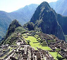 Machu Picchu, Peru by Braedene