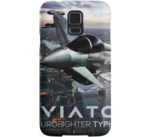 Eurofighter Typhoon Jet Fighter Samsung Galaxy Case/Skin