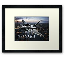 Eurofighter Typhoon Jet Fighter Framed Print