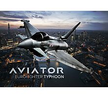 Eurofighter Typhoon Jet Fighter Photographic Print