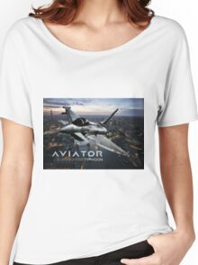 Eurofighter Typhoon Jet Fighter Women's Relaxed Fit T-Shirt