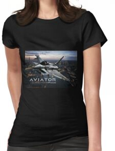 Eurofighter Typhoon Jet Fighter Womens Fitted T-Shirt