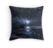 Final Frontier Voyager (FES) The Flat Earth Society Throw Pillow