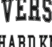University of Hard Knox Sticker
