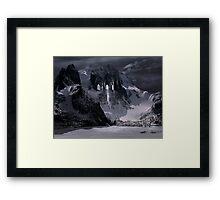 Sanctuary or snow mountain enter Framed Print
